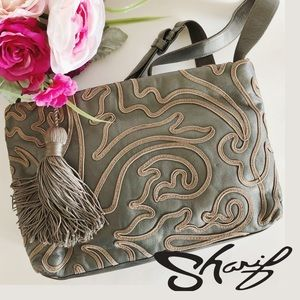Sharif Bags - Authentic Vintage Sharif Embroidered CrossBody